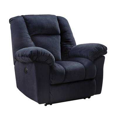 Murillo Power Recliner Upholstery: Midnight, Reclining Type: Power