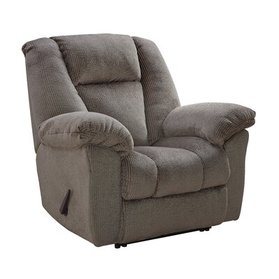 Murillo Power Recliner Upholstery: Taupe, Reclining Mechanism : Manual