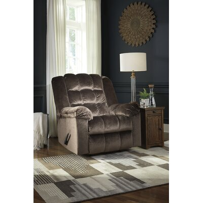 Berinda Power Rocker Recliner Upholstery: Mocha