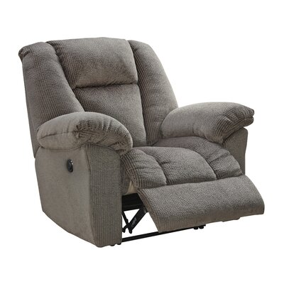 Murillo Power Recliner Upholstery: Taupe, Reclining Mechanism : Power