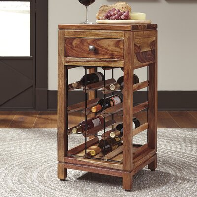 Kanaga 12 Bottle Floor Wine Cabinet