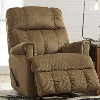 Levy Rocker Recliner Upholstery: Straw