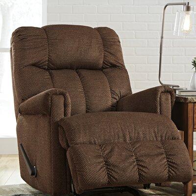 Levy Rocker Recliner Upholstery: Pecan
