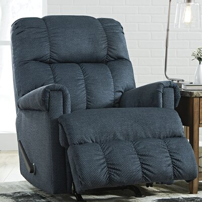 Levy Rocker Recliner Upholstery: Midnight