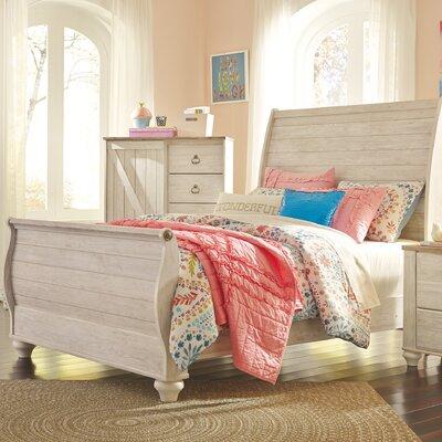 Algere Sleigh Bed