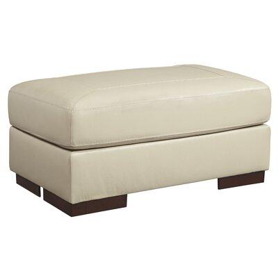 Braeden Ottoman Upholstery: Vanilla