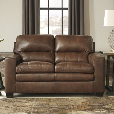 Kolton Loveseat Upholstery: Canyon
