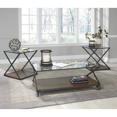 Banilee 3 Piece Coffee Table Set
