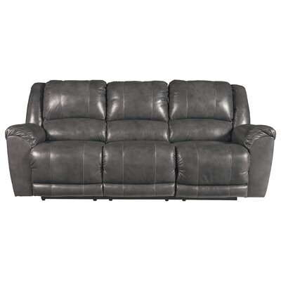 Waterloo Reclining Sofa Upholstery: Gray, Recliner Mechanism: Power