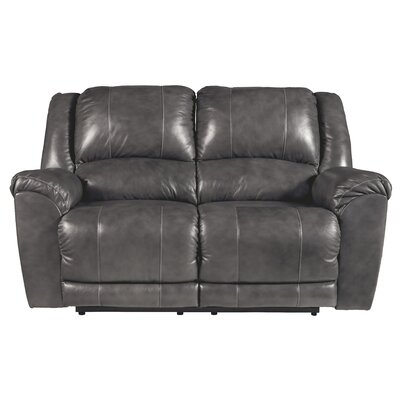 Waterloo Reclining Loveseat Upholstery: Gray, Recliner Mechanism: Power