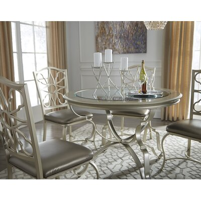 Charles Unfinished Dining Chair (Set of 4)