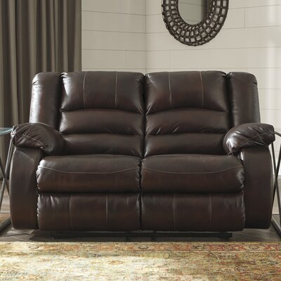 Lunceford Reclining Loveseat Recliner Mechanism: Power