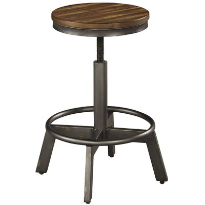 Canh Adjustable Height Bar Stool
