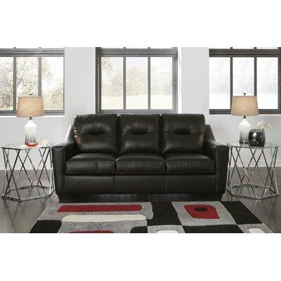 Cabrini Sofa Upholstery: Black