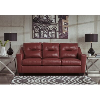 Cabrini Sofa Upholstery: Red