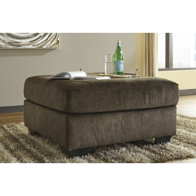Rupendra Cocktail Ottoman Upholstery: Dark Gray