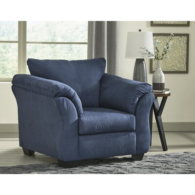 Sagamore Armchair Upholstery: Blue