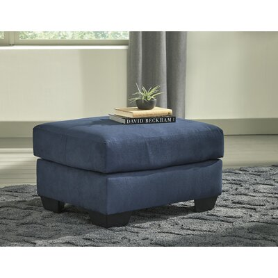 Sagamore Cocktail Ottoman Upholstery: Blue