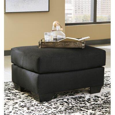 Sagamore Cocktail Ottoman Upholstery: Black