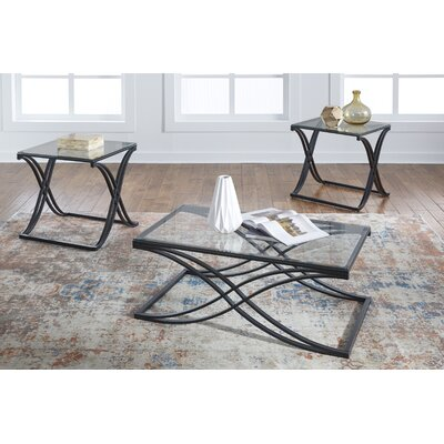 Caspian 3 Piece Table Set