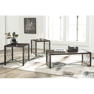 Kyree 3 Piece Coffee Table Set