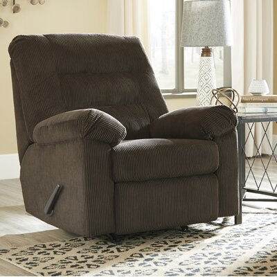 Brierwood Rocker Recliner Upholstery: Chocolate