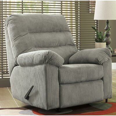 Brierwood Rocker Recliner Upholstery: Gray