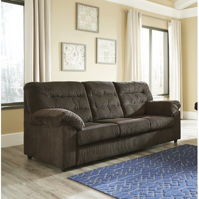 Brierwood Full Sleeper Sofa Upholstery: Chocolate
