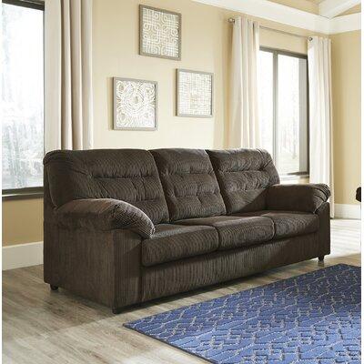 Brierwood Full Sleeper Sofa Upholstery: Chocolate
