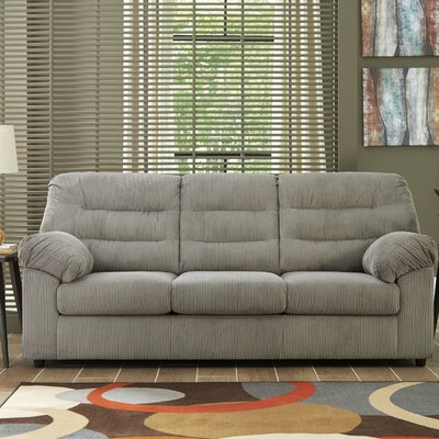 Brierwood Full Sleeper Sofa Upholstery: Gray