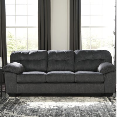 Rupendra Queen Sleeper Upholstery: Dark Gray