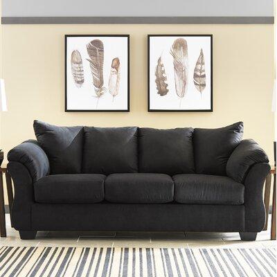 Sagamore Sofa Upholstery: Black