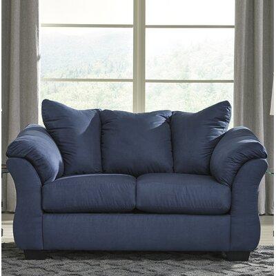 Sagamore Loveseat Upholstery: Blue