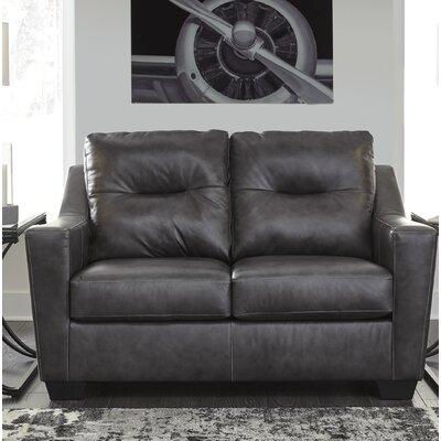 Cabrini Loveseat Upholstery: Dark Gray