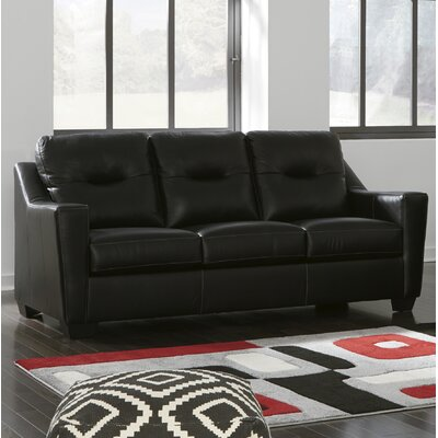 Cabrini Queen Sleeper Upholstery: Black