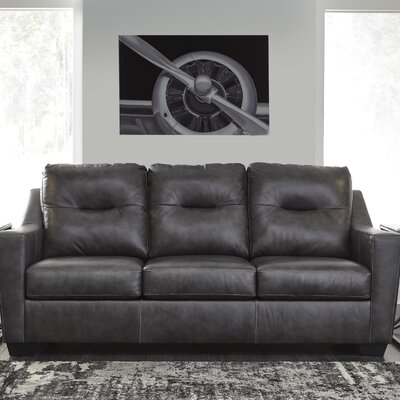 Cabrini Queen Sleeper Upholstery: Dark Gray