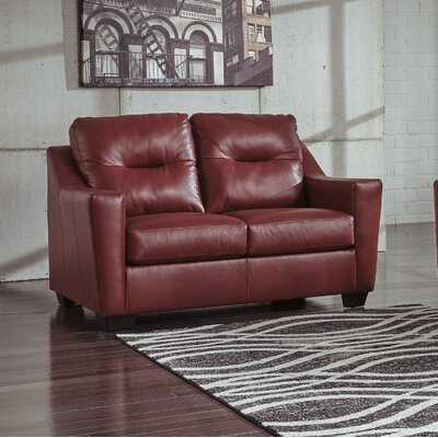 Cabrini Queen Sleeper Upholstery: Red