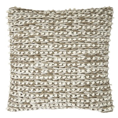 Leonel Throw Pillow Color: Tan