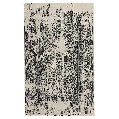 Palethorp Black/White Area Rug Rug Size: 8 x 10