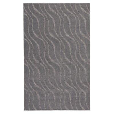 Dinapoli Gray Area Rug Rug Size: 8 x 10