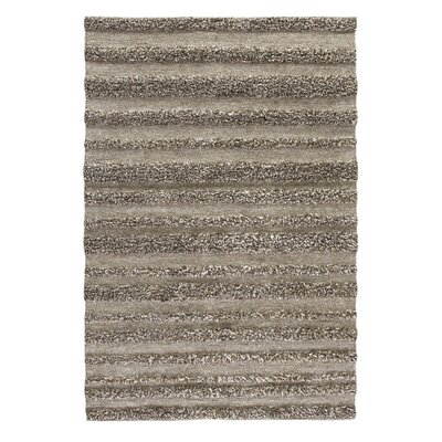 Sheard Hand Woven Wool Beige/Brown Area Rug Rug Size: 8 x 10