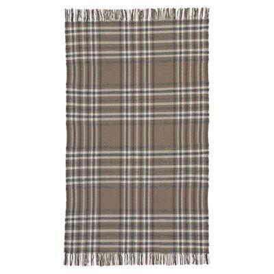 Emilee Hardy Hand Woven Wool Beige/Brown Area Rug Rug Size: 8 x 10