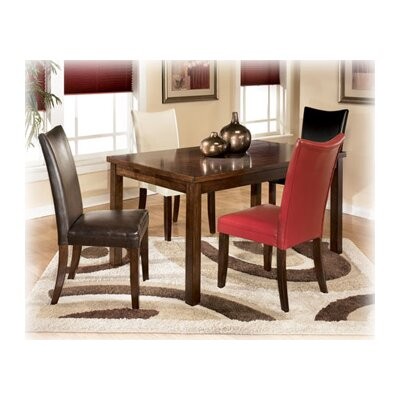 Signature Design By Ashley Colton Five Piece Rectangular Dining Set In Medium Brown Gnt1900