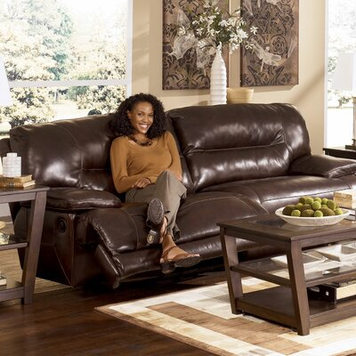 4240181 GNT2244 Signature Design by Ashley Venice Leather Reclining Sofa