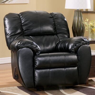 Jack Chaise Rocker Recliner Upholstery: Black