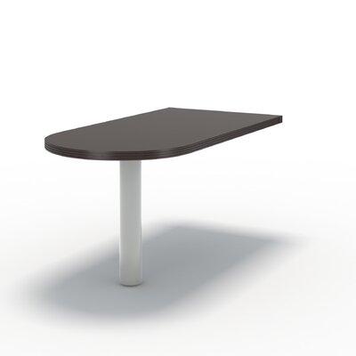 Aberdeen 29.5 H x 60 W Desk Peninsula Finish: Mocha