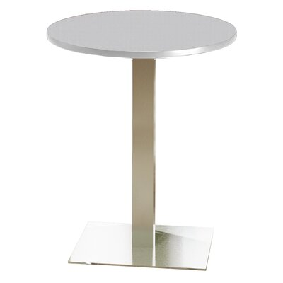 Bistro Bar Height Pub Table Tabletop Size: 30 W x 30 D