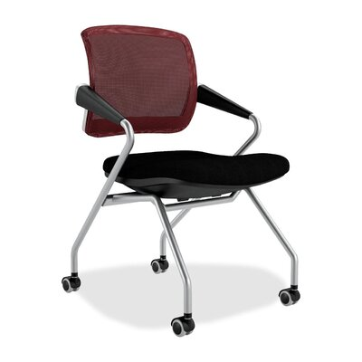 Valore Training Series Guest Chair Upholstery: Burgundy