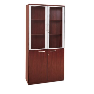 4 Door Storage Cabinet Finish: Sierra Cherry Product Image 860