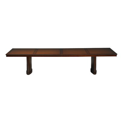 Sorrento Conference Table Size: 30 L, Finish: Bourbon Cherry